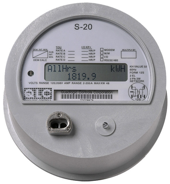 Digital Electric Meter : Electricity meters qmc