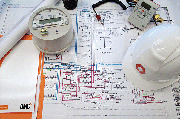 QMC submetering design plans