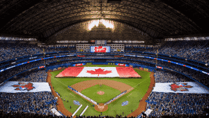 image of rogers centre, with submeters provided by QMC