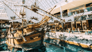 image of west edmonton mall with submeters provided by QMC
