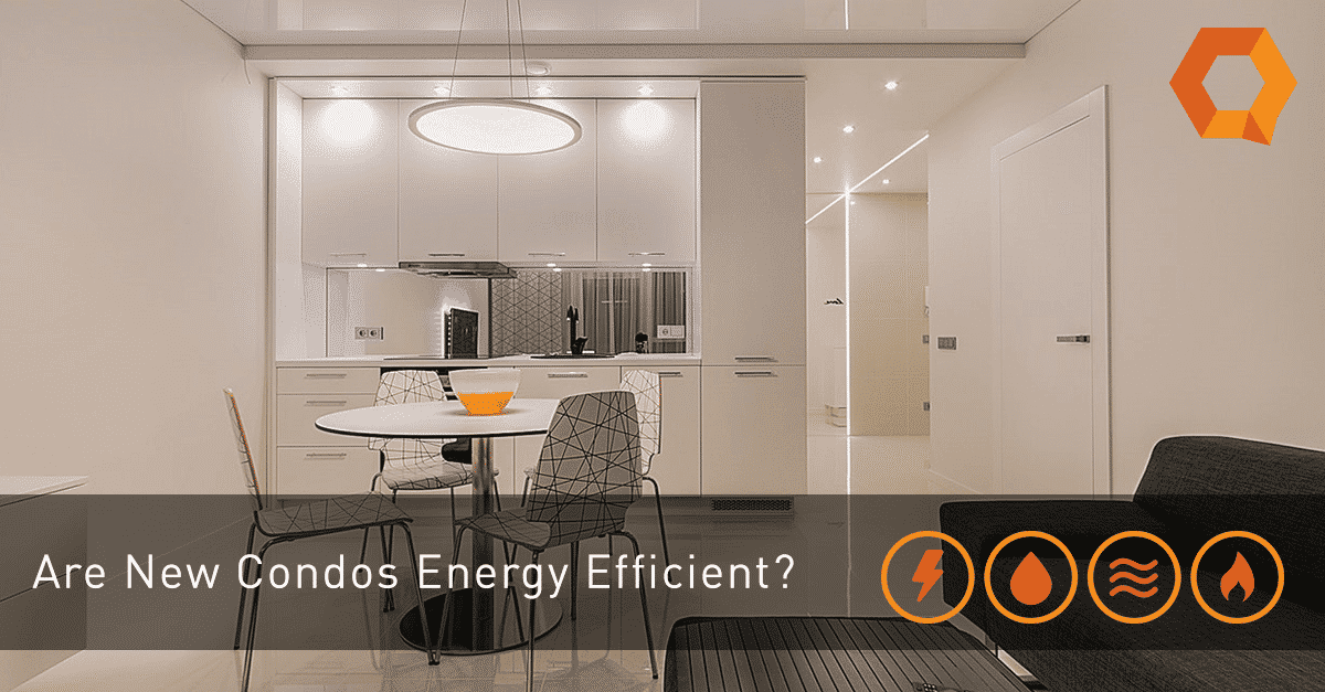 A new report finds that new condos are not energy efficient
