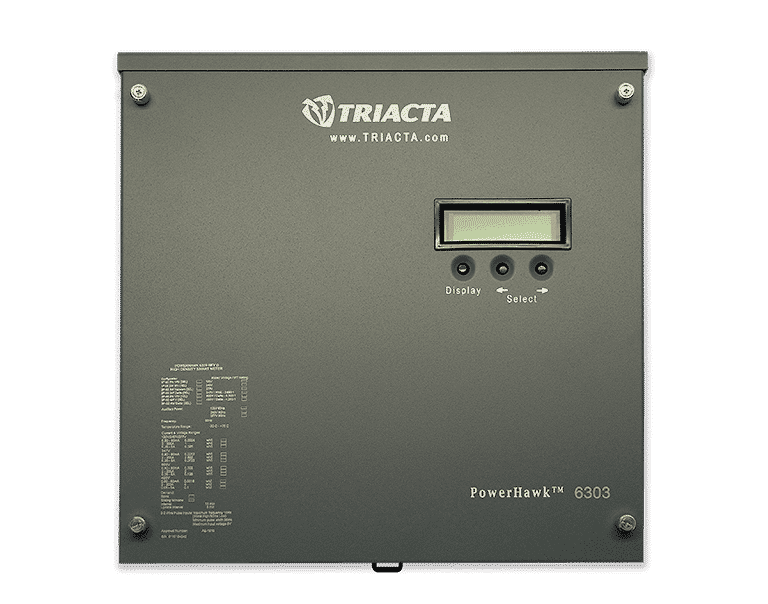 Image of a Triacta Powerhawk, an electricity submeter that QMC sells