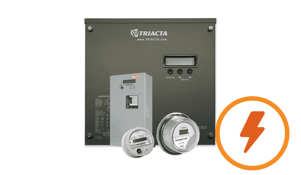 Image of a suite of QMC's electricity meters