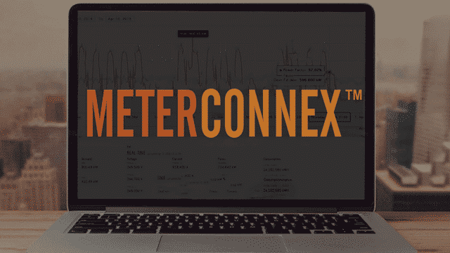 Image of a computer using MeterConnex