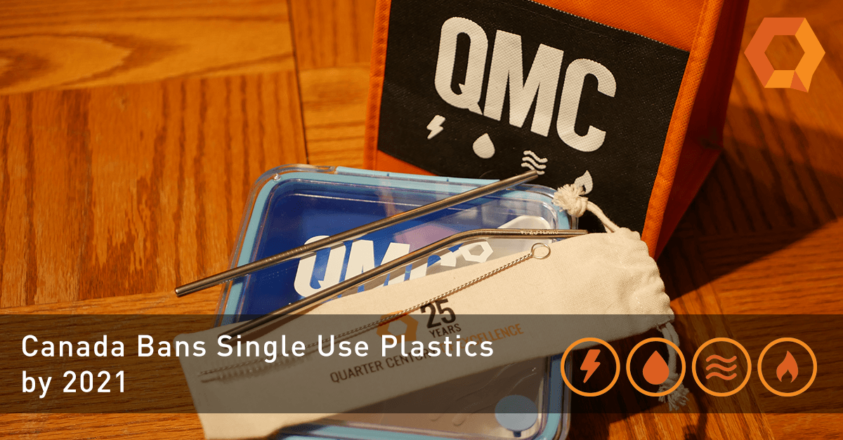 Images of QMC's Single Use Plastic replacements